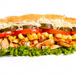 Stock Photo: Sub sandwich