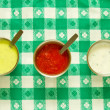 Sauces — Stock Photo
