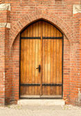 Castle door — Stockfoto