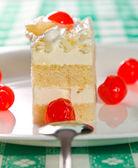 Slice of cake — Foto Stock