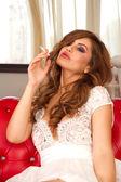 Fumar no estilo — Foto Stock