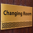 Changing room — Stock Photo
