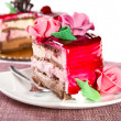 Fruit cake — Stock Photo