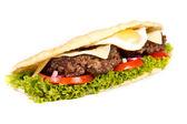 Burger sub — Zdjęcie stockowe