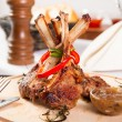 Stock Photo: Rack of lamb
