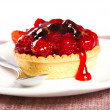 Berries tart — Stock Photo
