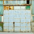 Factory door — Stock Photo