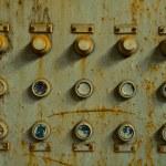 Old control panel — Stock Photo #37176775