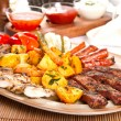 Mixed platter — Stock Photo