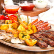 Stock Photo: Mixed platter