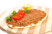Turkish pizza — Stock Photo