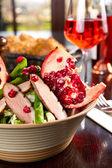 Duck salad — Stock Photo
