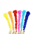 Sparkling Color Pencils — Stock Photo