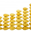 Almond sales graphic — Stock Photo #25591943