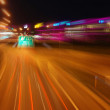 Motorway at night — Stock Photo