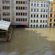 Floods in Prag — Stock Photo