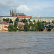 Floods in Prague — Stock Photo