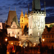 Stock Photo: Night Prague