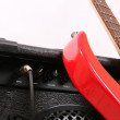 Abstract guitar theme — Stock Photo