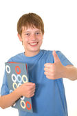 Young smiling teenage boy — Stock Photo