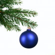 Decorating Christmas tree — Stock Photo #25710383