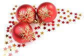Christmas tree decorations — Stock Photo