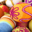 Easter eggs isolated on white — Stockfoto