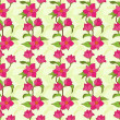 Vector seamless pattern with magnolia — Stock Vector #26780665