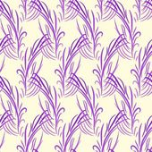 Vector seamless pattern with feathers — Stock Vector