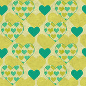 Valentine's vector seamless pattern — Stock Vector