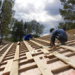 Roof work — Stock Photo