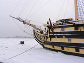 Ship in Sankt Petersburg,Russia — ストック写真