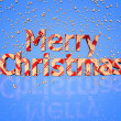 Stock Photo: Merry Christmas text