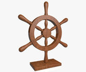 Nautical wheel — Stockfoto