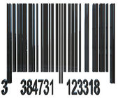 Bar code — Stock Photo