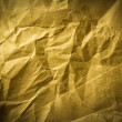 Rumpled paper texture — Stock Photo