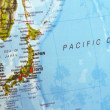 Map of Japan — Stock Photo
