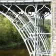 The Iron Bridge over the River Severn - Stock Photo