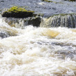 Close up image of river rapids on River Dee — Stock Photo