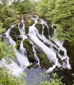 Swallow Falls near Betws-Y-Coed — Stock Photo