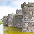 Beaumaris castle in Anglesey — Stock Photo