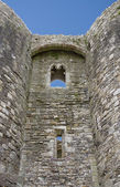 Beaumaris castle detail — Stock Photo