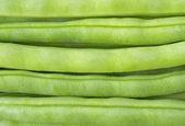 緑色の豆のイメージ アップを閉じる — ストック写真