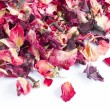 Dried rose petal pot-pourri — Stock Photo