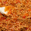 Stock Photo: Bolognese sauce cooking in pan