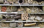 Rustic insect house — Stock Photo
