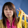 Stock Photo: Yellow ribbon