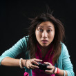 Stock Photo: Gamer