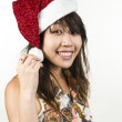 Royalty-Free Stock Photo: Asian Christmas girl