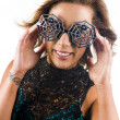 Spiderweb glasses — Stock Photo #25576339